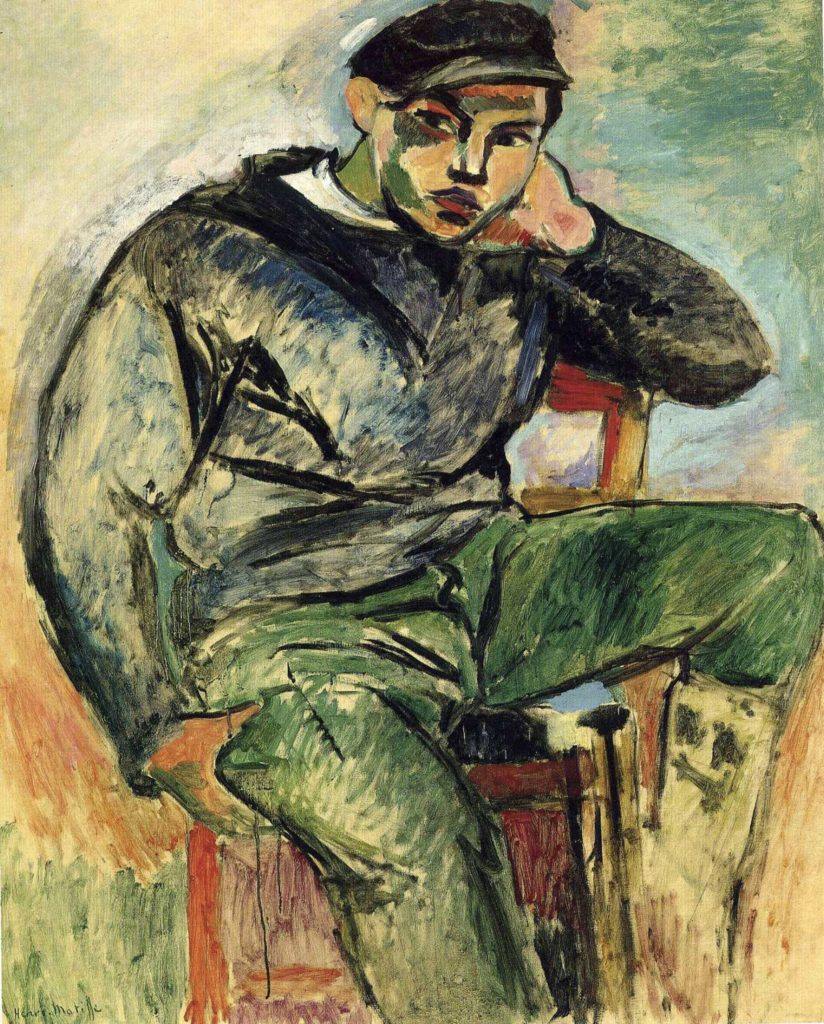 Jeune marin par Henri Matisse