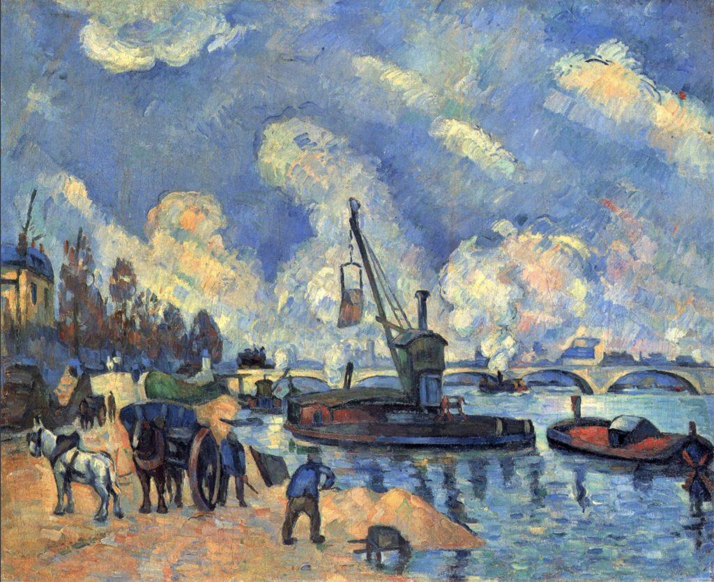 La Seine à Bercy de Paul Cézanne