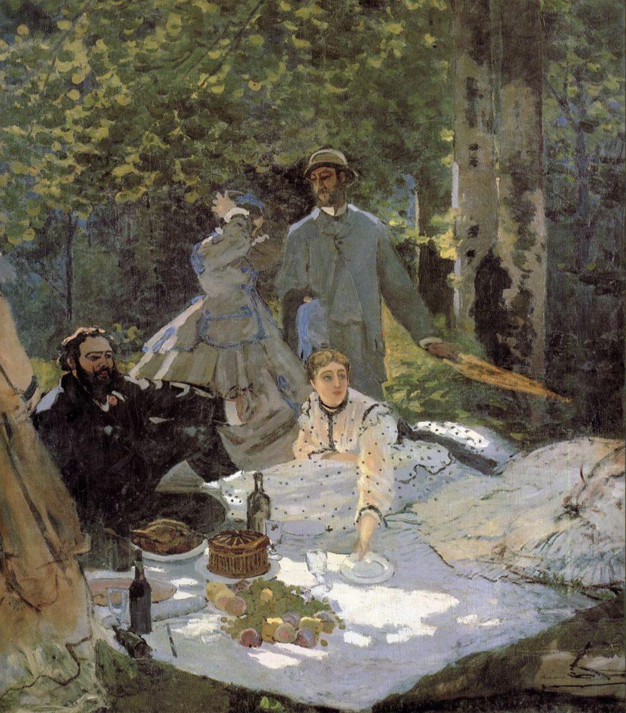 Déjeuner sur l'herbe de Claude Monet