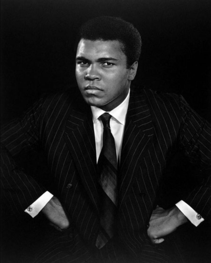 Muhammad Ali par Yousuf Karsh