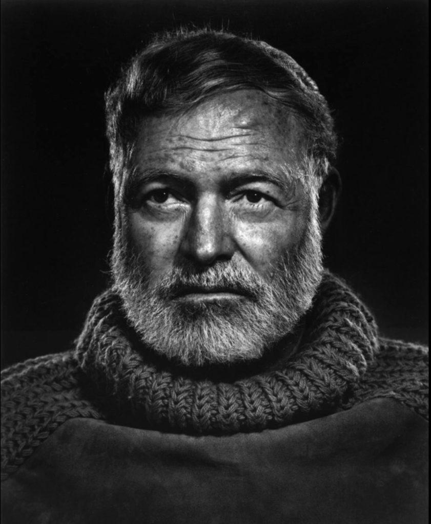 Portrait d'Ernest Hemingway par Yousuf Karsh