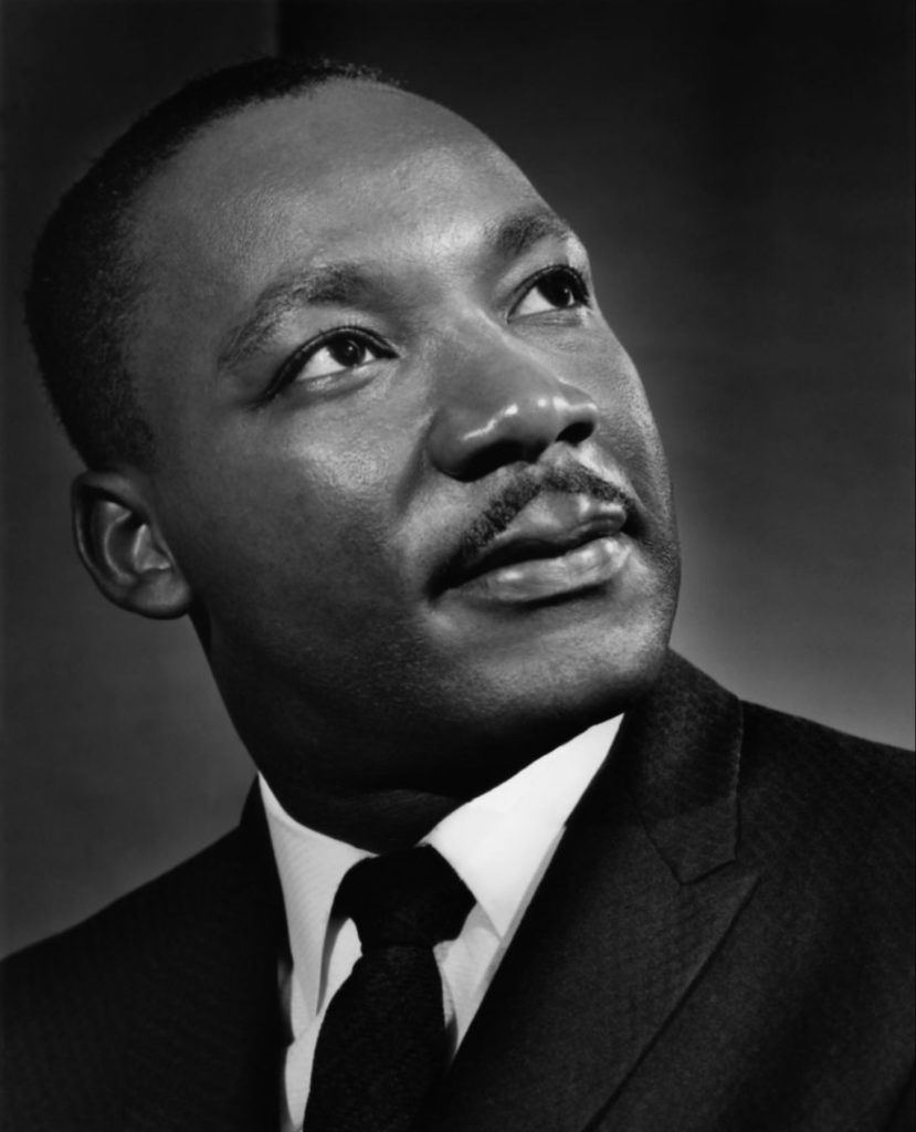 Martin Luther King par Yousuf Karsh