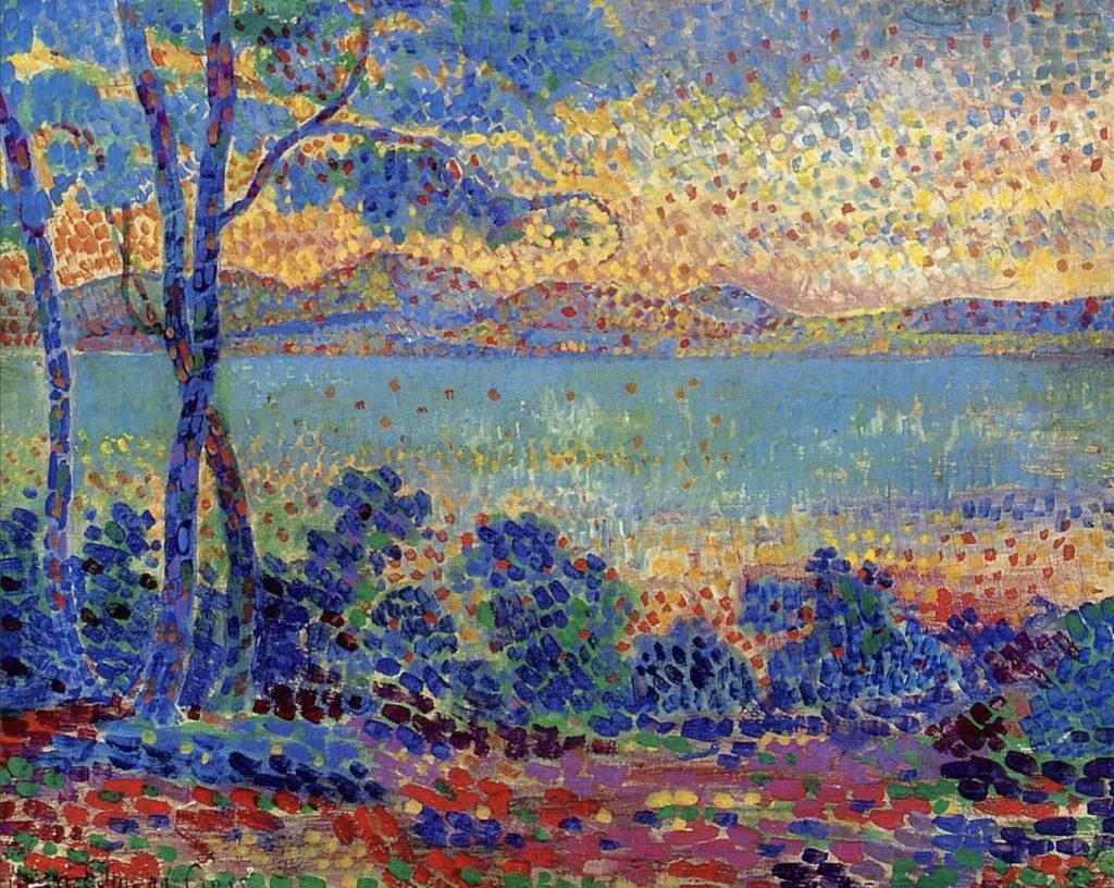 Paysage provençal d'Henri-Edmond Cross