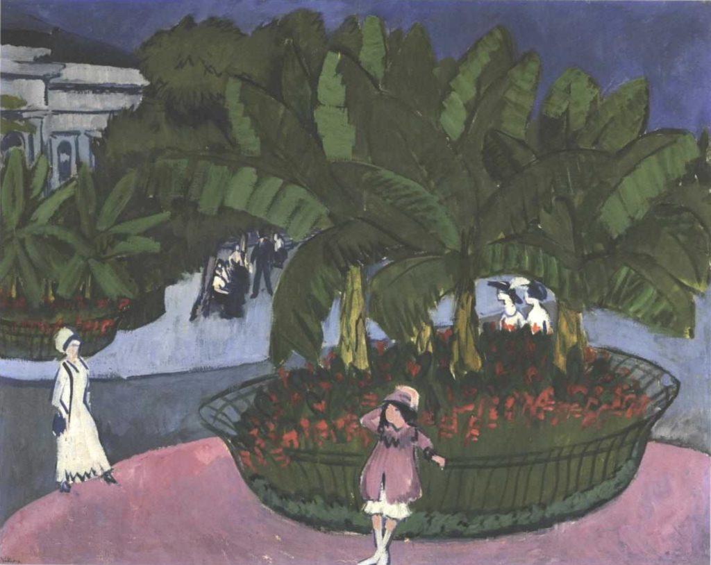 Square Albert à Dresde d'Ernst Ludwig Kirchner