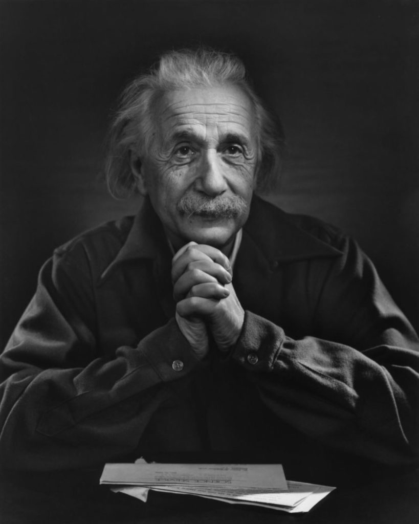 Albert Einstein par Yousuf Karsh