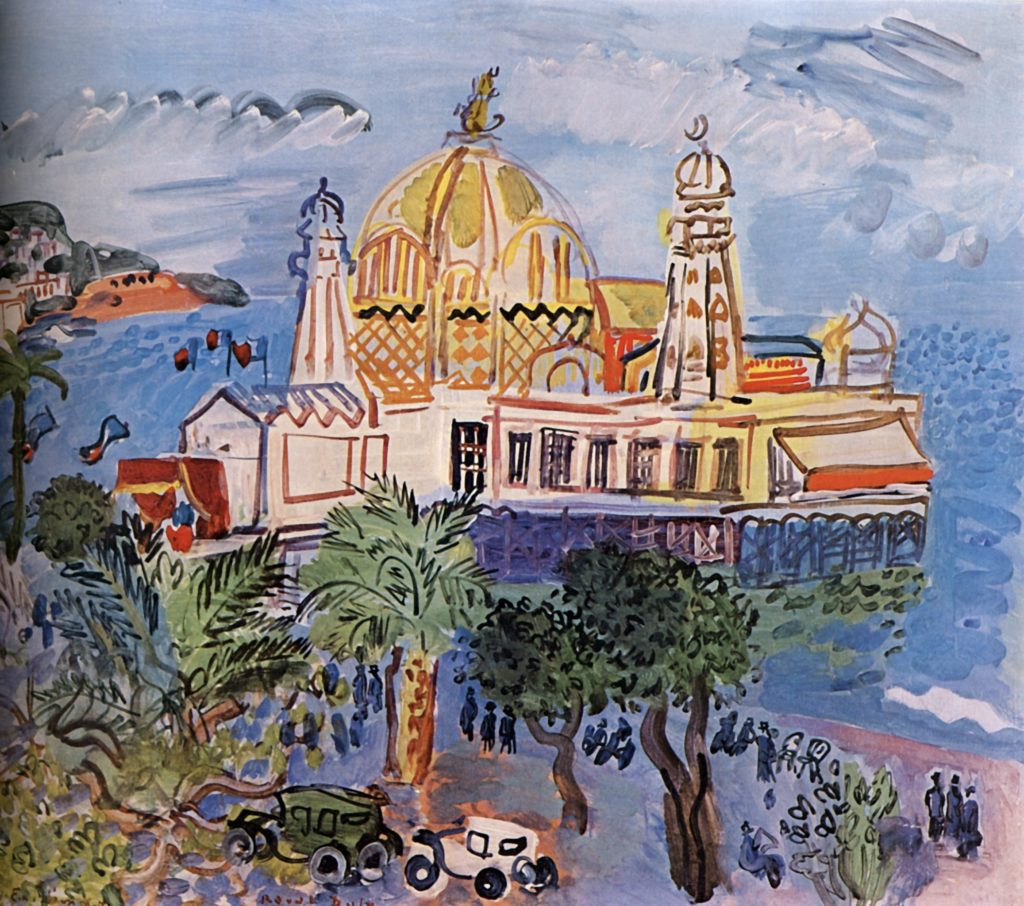 Casino de Nice par Raoul Dufy