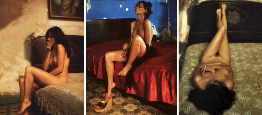 Emmanuelle Béart, série Cuba Libre par Sylvie Lancrenon