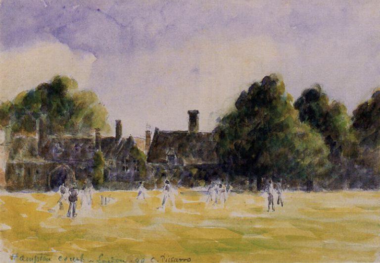 Hampton Court Vert de Camille Pissarro