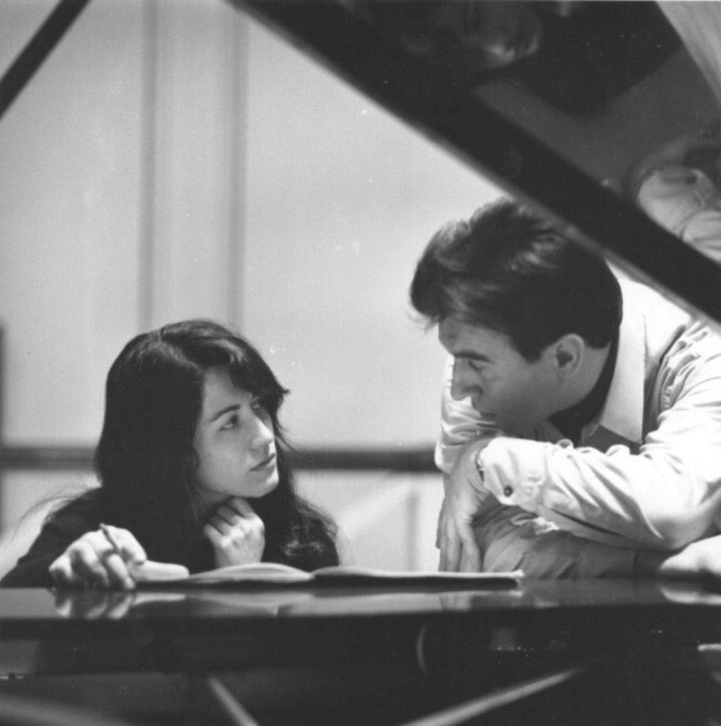 Martha Argerich et Claudio Abbado par Erich Auerbach