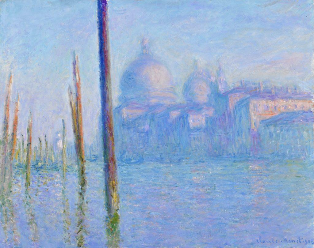 Le Grand Canal, Venise par Claude Monet