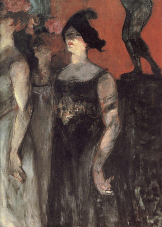 Messaline d'Henri de Toulouse-Lautrec