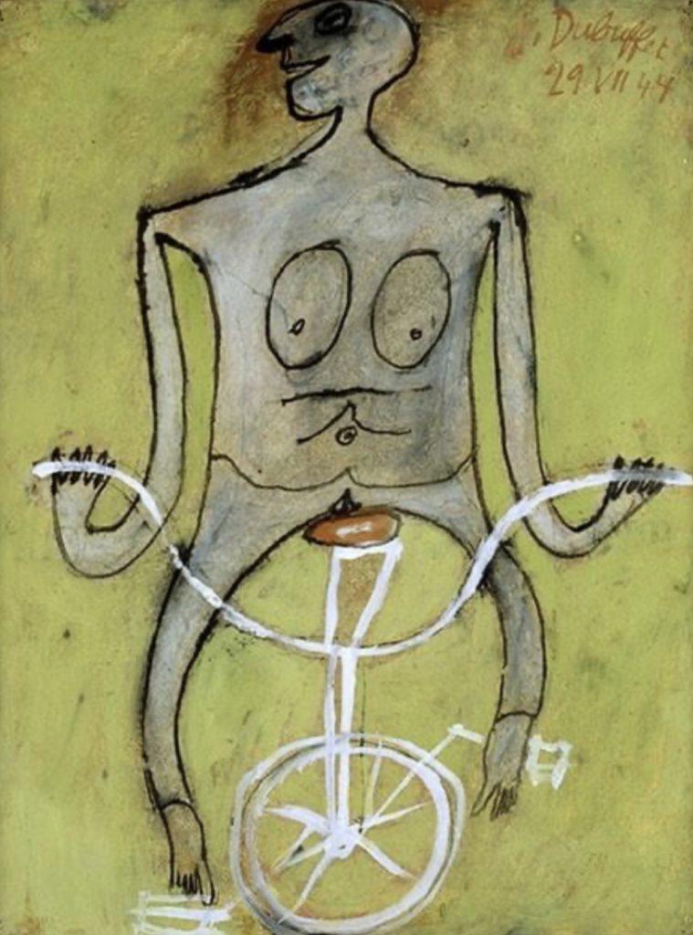 Tableau de Jean Dubuffet