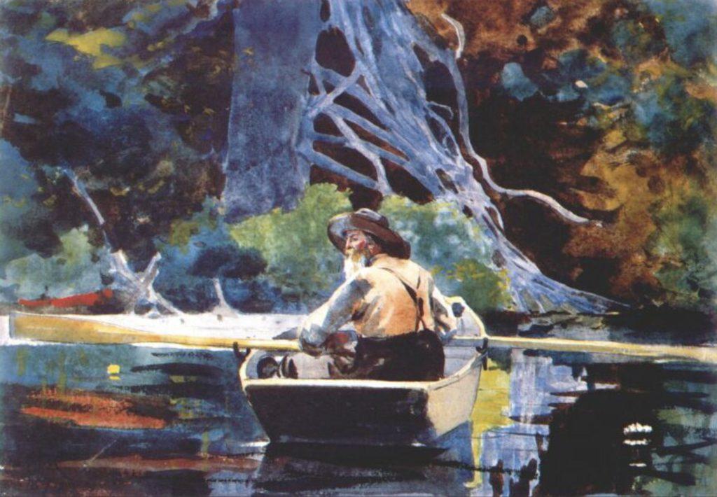 Le guide des Adirondacks par Winslow Homer