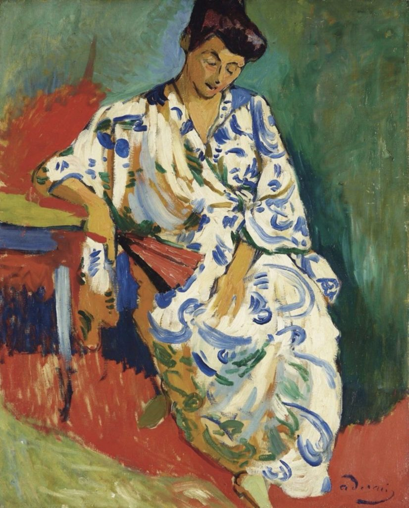 Madame Matisse en kimono par André Derain