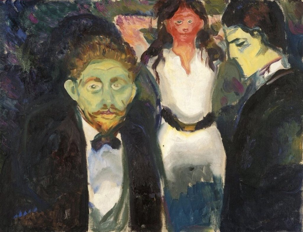 Jalousie par Edvard Munch
