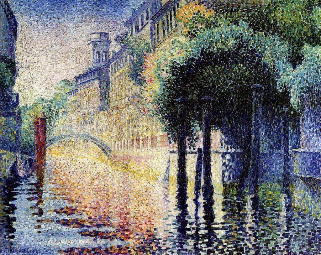 San Trovaso, Venise d'Henri-Edmond Cross