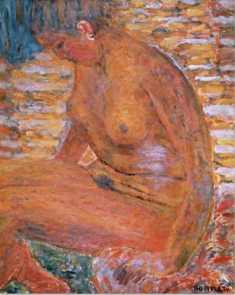 Sombre nu par Pierre Bonnard