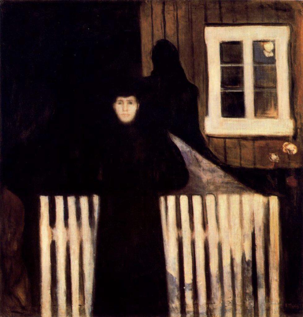 Clair de lune par Edvard Munch