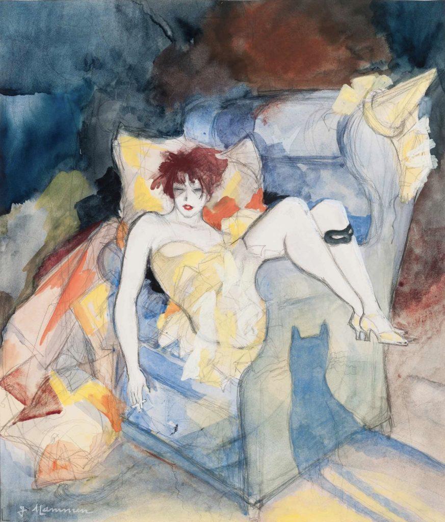 Jeanne Mammen, Aschermittwoch par Jeanne Mammen