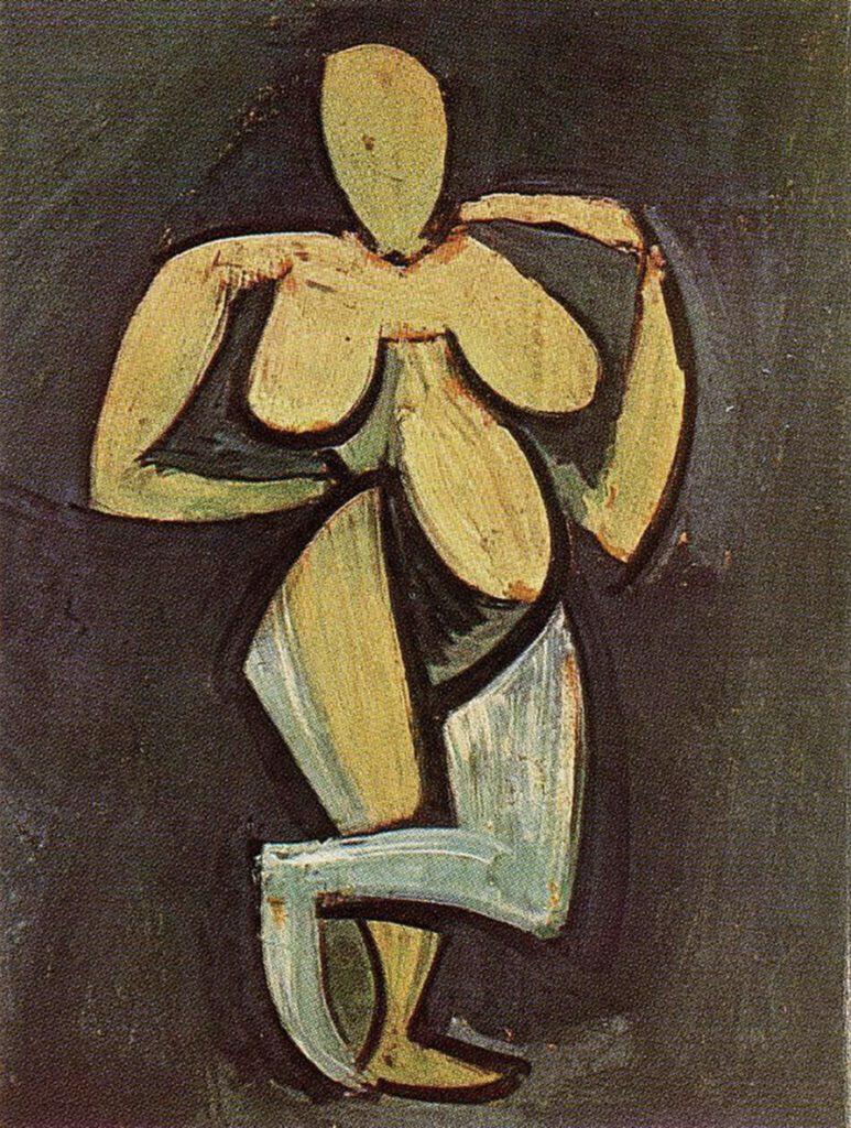 Femme nue debout de Pablo Picasso