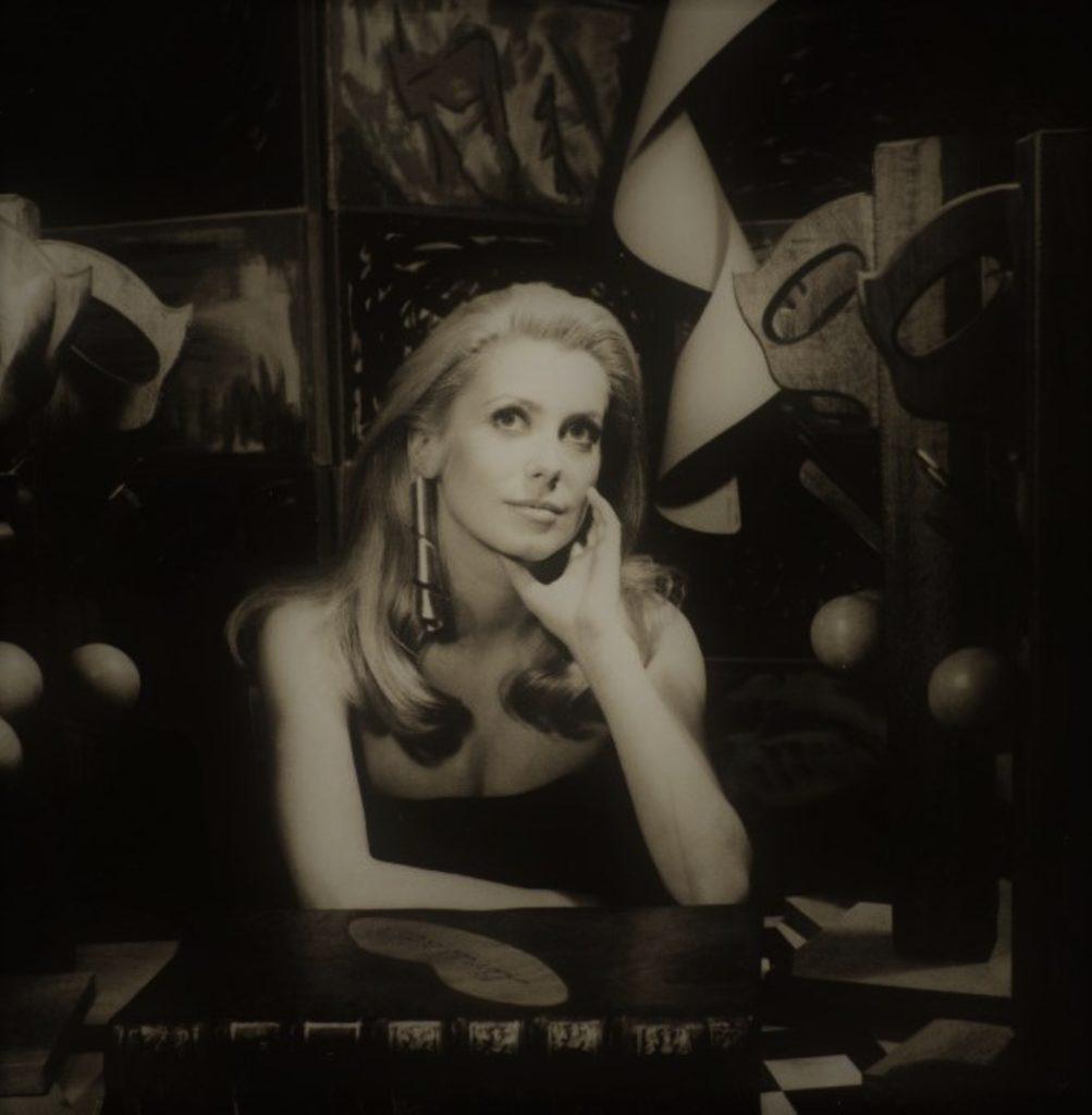 Catherine Deneuve par Man Ray