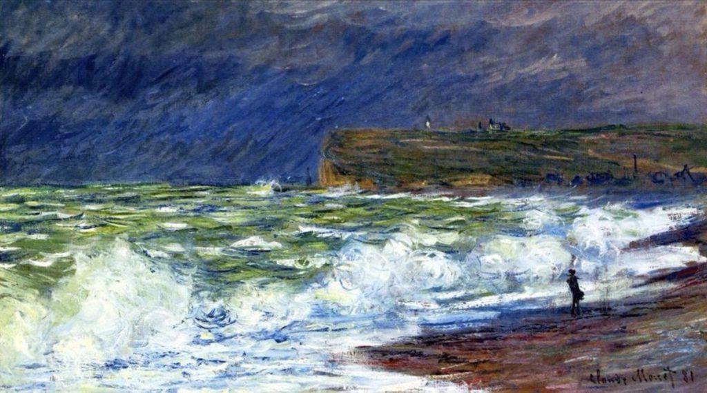 La plage à Fécamp de Claude Monet