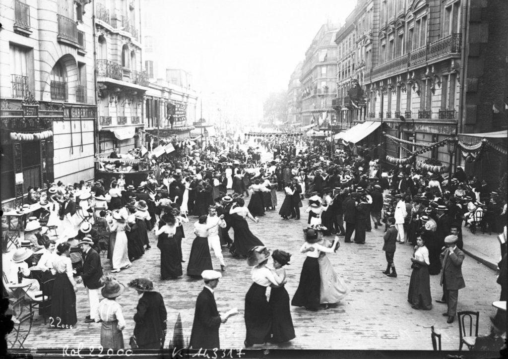 Bal populaire du 14 juillet 1912, Paris
