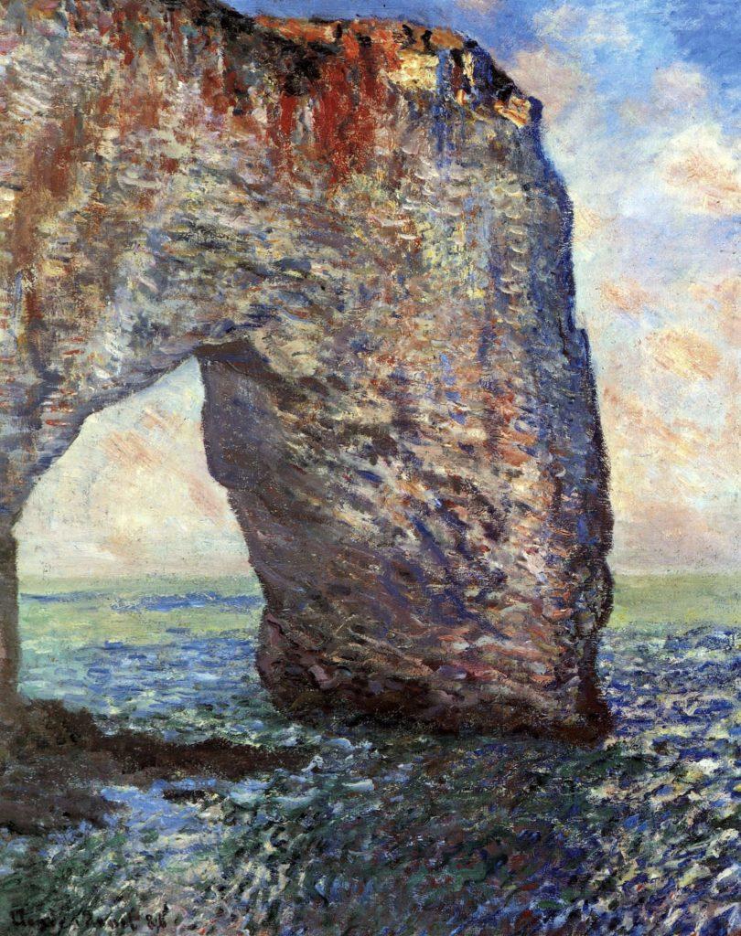 Le 'Mannerport' près d'Étretat de Claude Monet