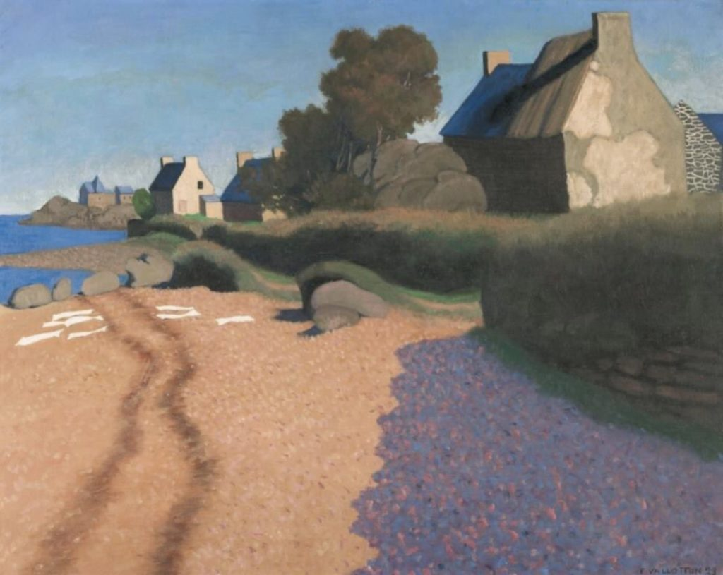 Paysage à Loguivy de Félix Vallotton