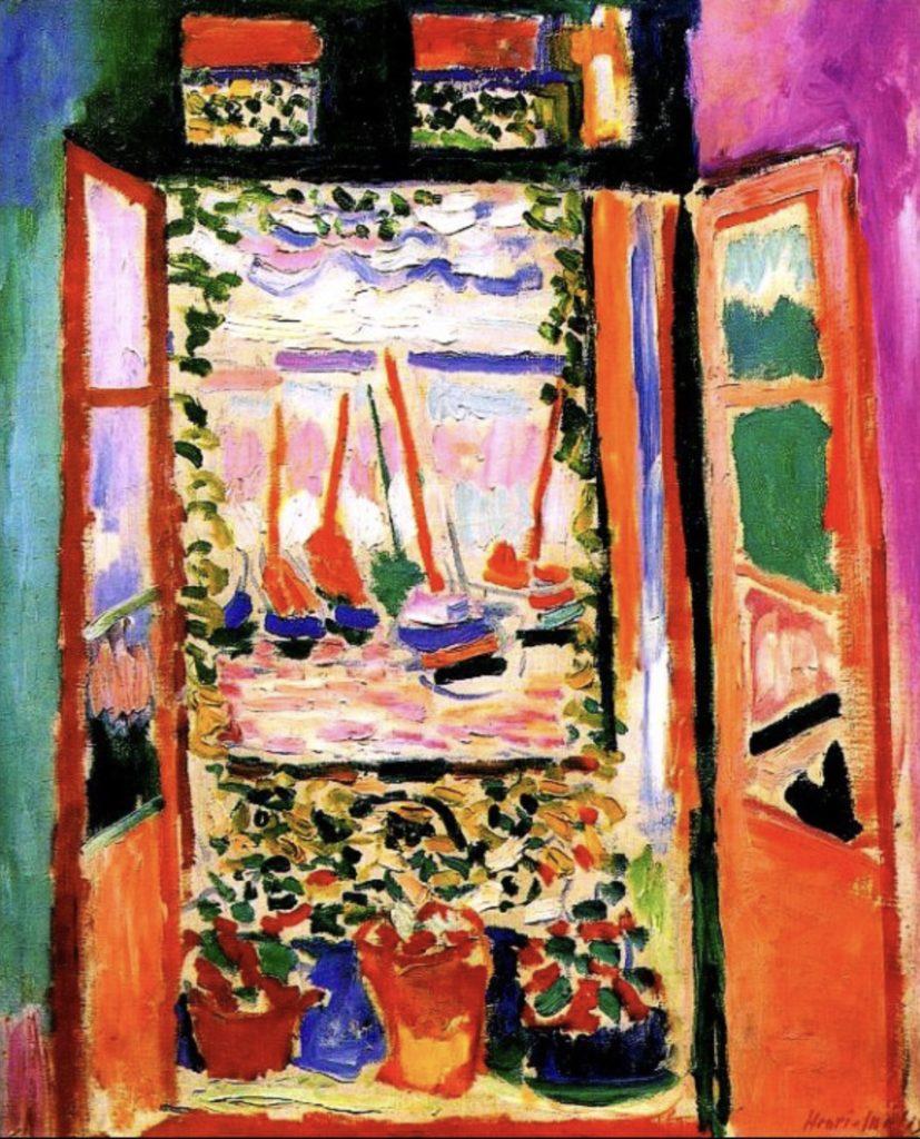 Fenêtre ouverte d'Henri Matisse