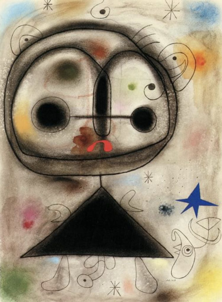 Personnage, oiseau de Joan Miró