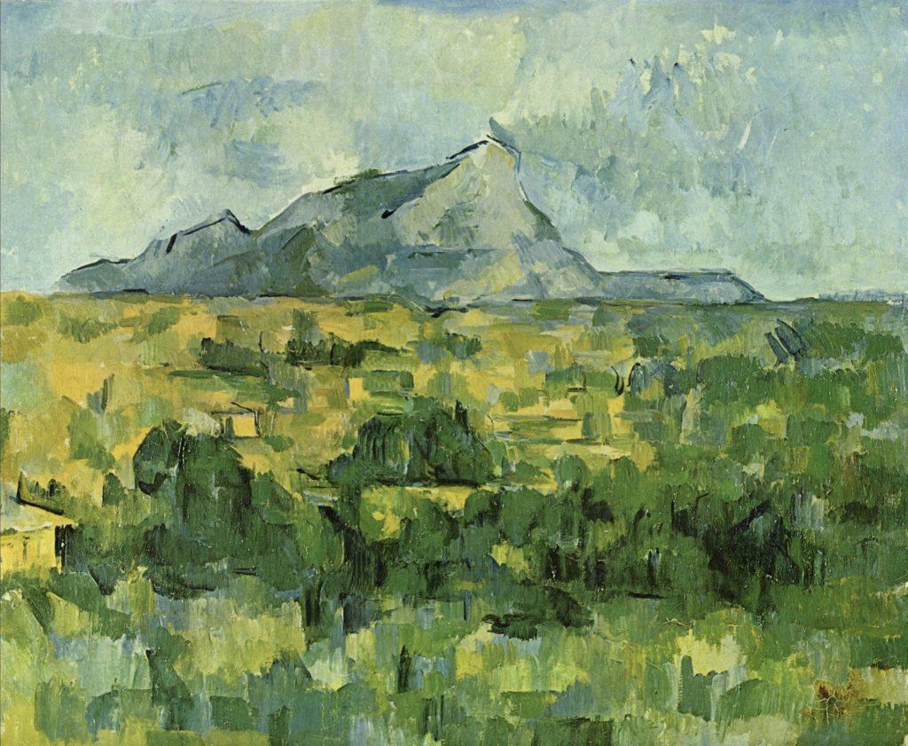 Montagne Sainte-Victoire par Paul Cézanne