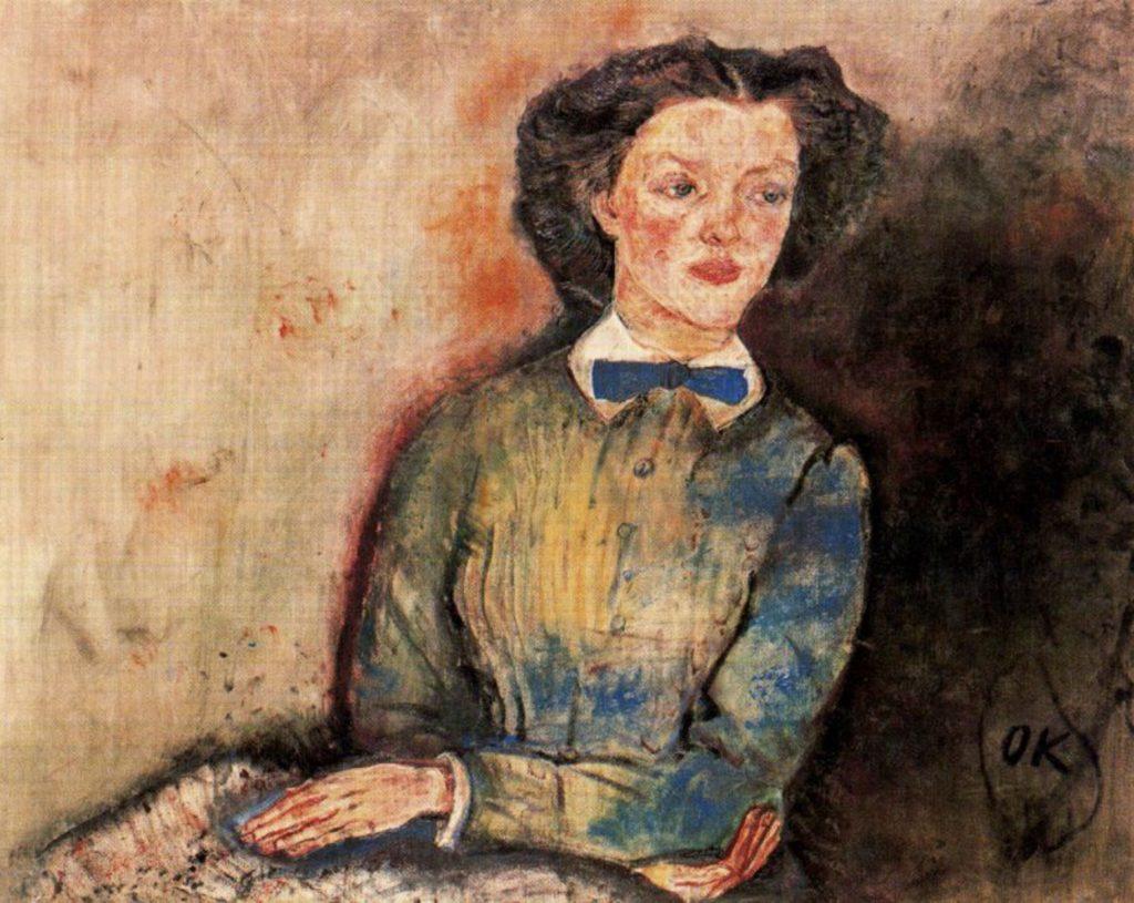 Bessie Bruce par Oskar Kokoschka