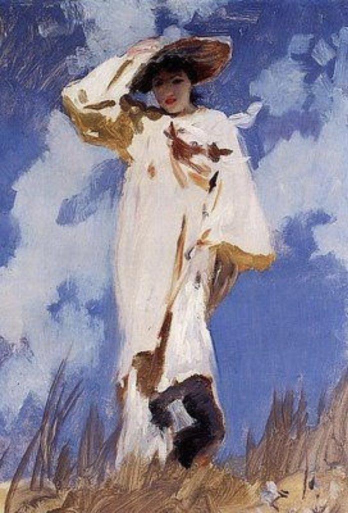Coup de vent de John Singer Sargent