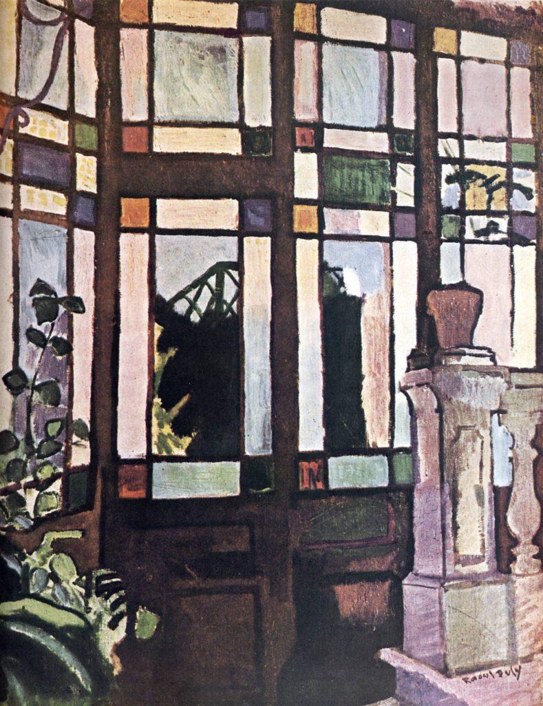 Fenêtres avec verres de couleur de Raoul Dufy