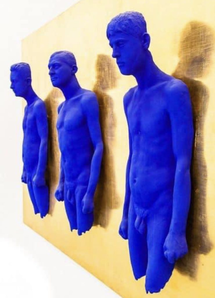 Sculptures d'Yves Klein