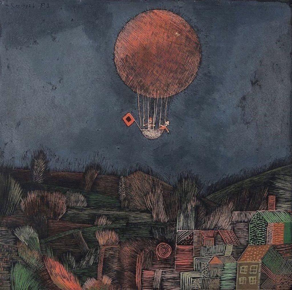 Le ballon par Paul Klee