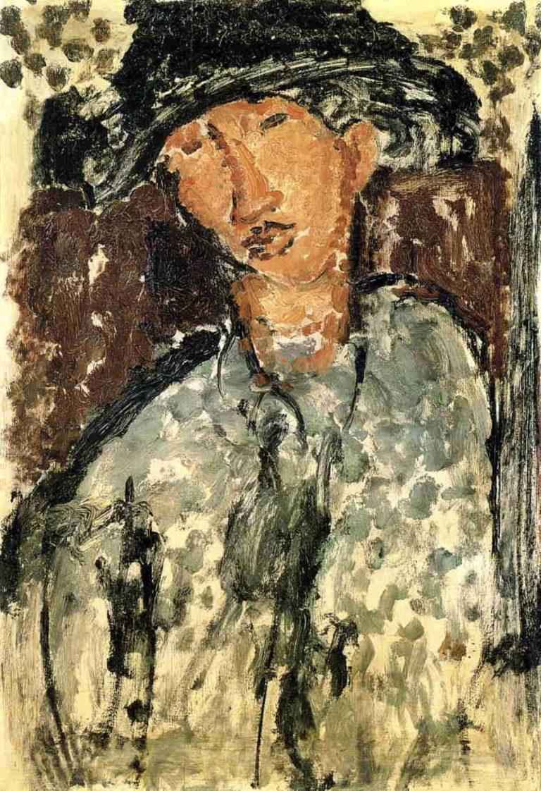 Portrait de Chaïm Soutine par Modigliani
