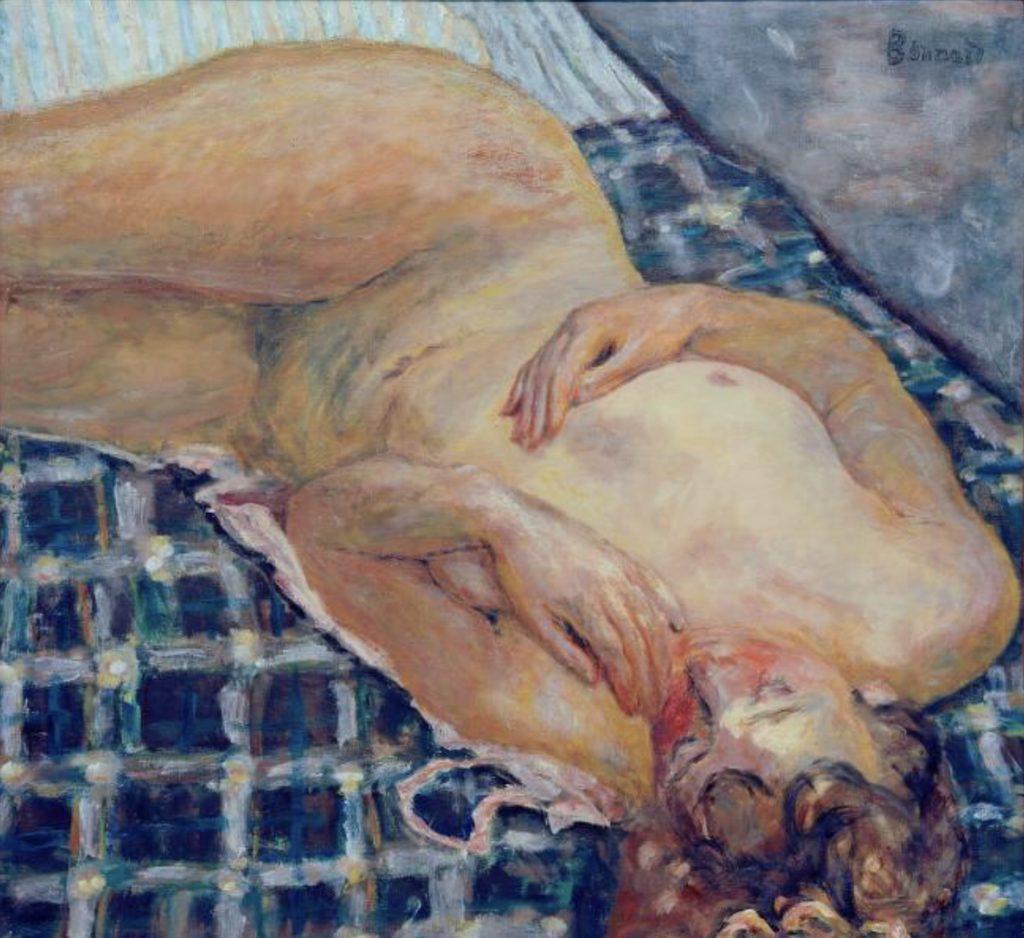 Nu couché par Pierre Bonnard