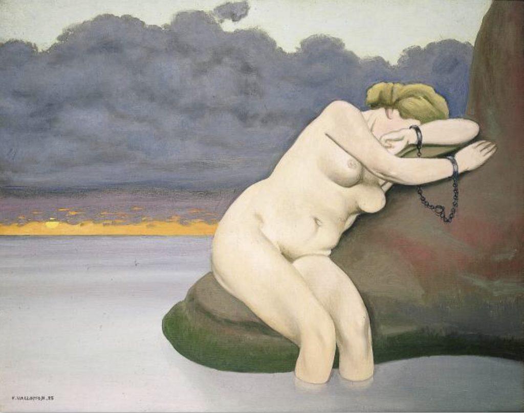 Andromède enchaînée par Félix Vallotton