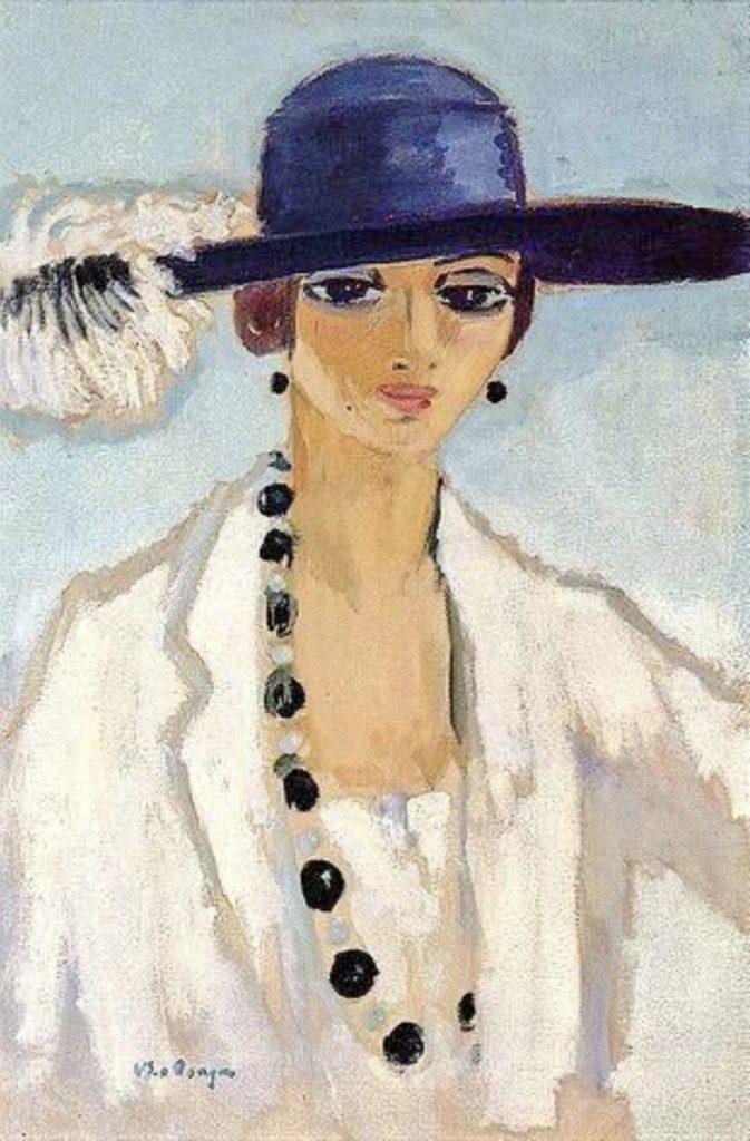 Femme au collier de perles de Kees Van Dongen