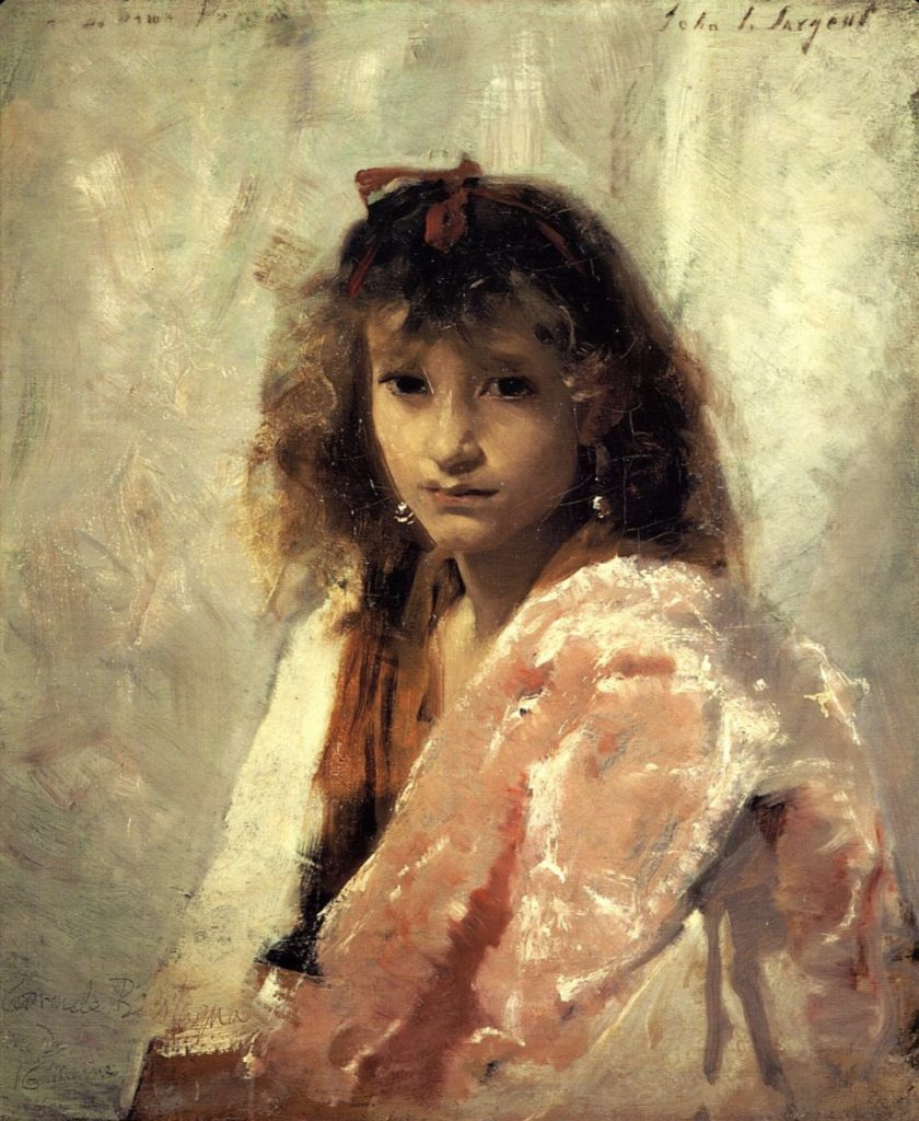 Carmela Bertagna par John Singer Sargent