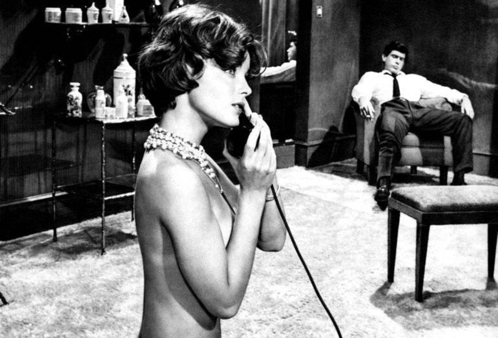 Romy Schneider dans Boccaccio 70 de Luchino Visconti