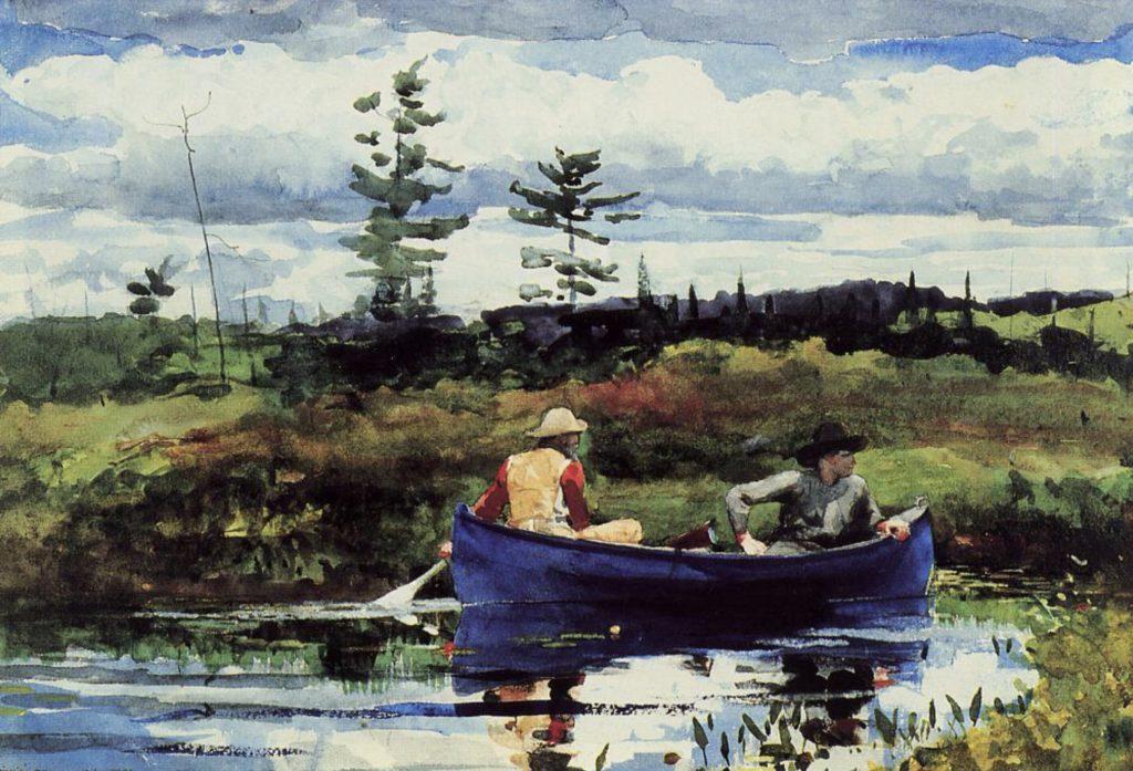 Bateau bleu de Winslow Homer