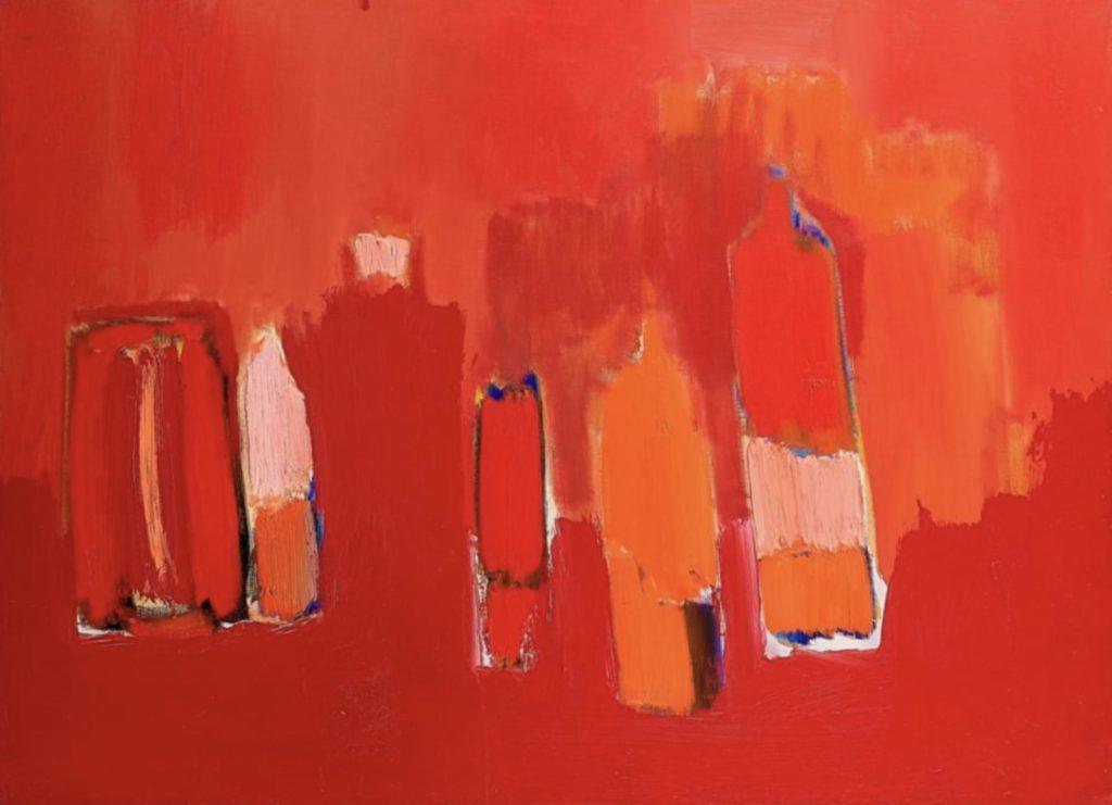 Bouteilles rouges par Nicolas de Staël