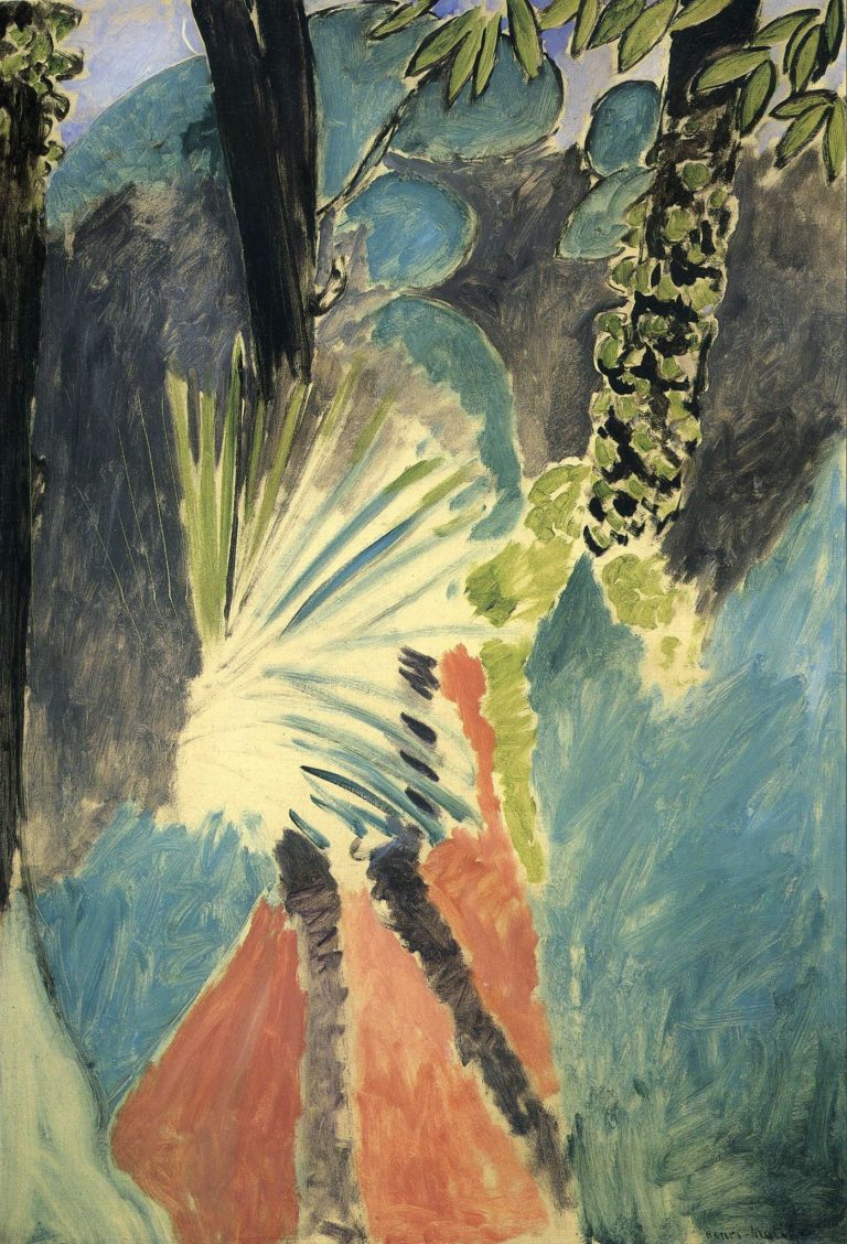 La palme, matin de mars, près de Tanger par Henri Matisse