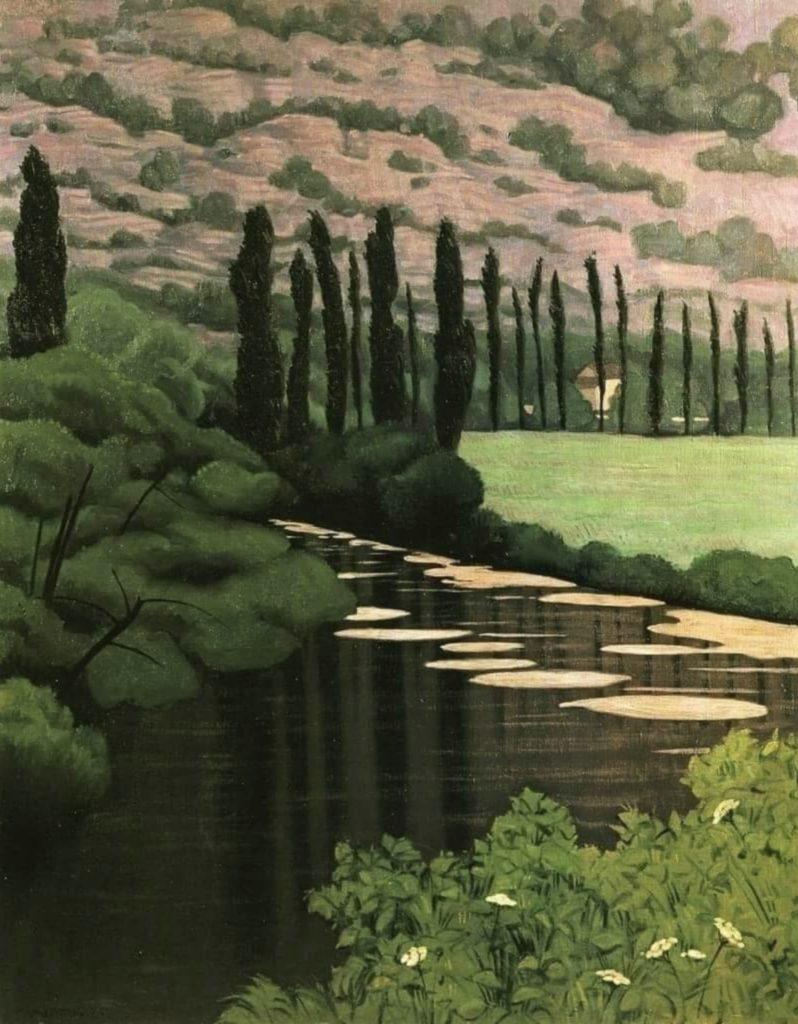 Paysage à Marcillac par Félix Vallotton
