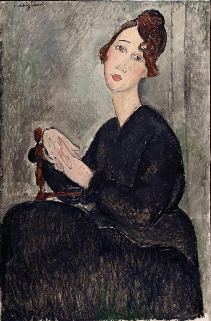Portrait par Modigliani