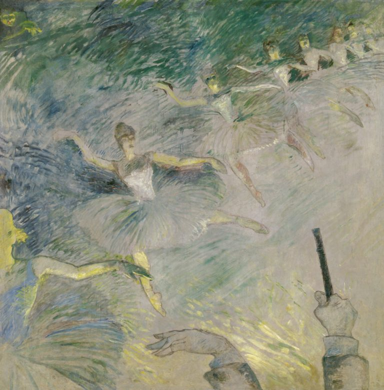Danseuses de ballet par Henri de Toulouse-Lautrec