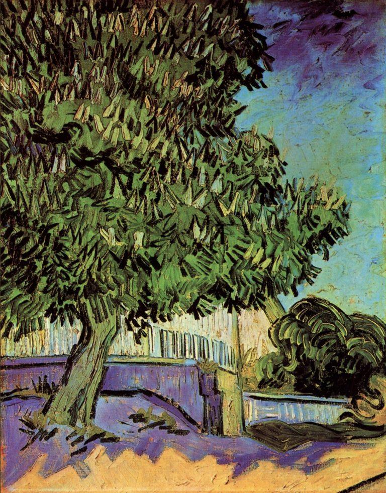 Châtaignier en fleur de Vincent Van Gogh